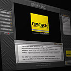 Brokk Demolition Equiptment Interactive CD Presentation Design
