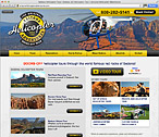 Arizona Helicopter Adventures Website Design