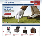 Delta Sky Store Website Design