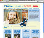 PetSmart Charities Website Design